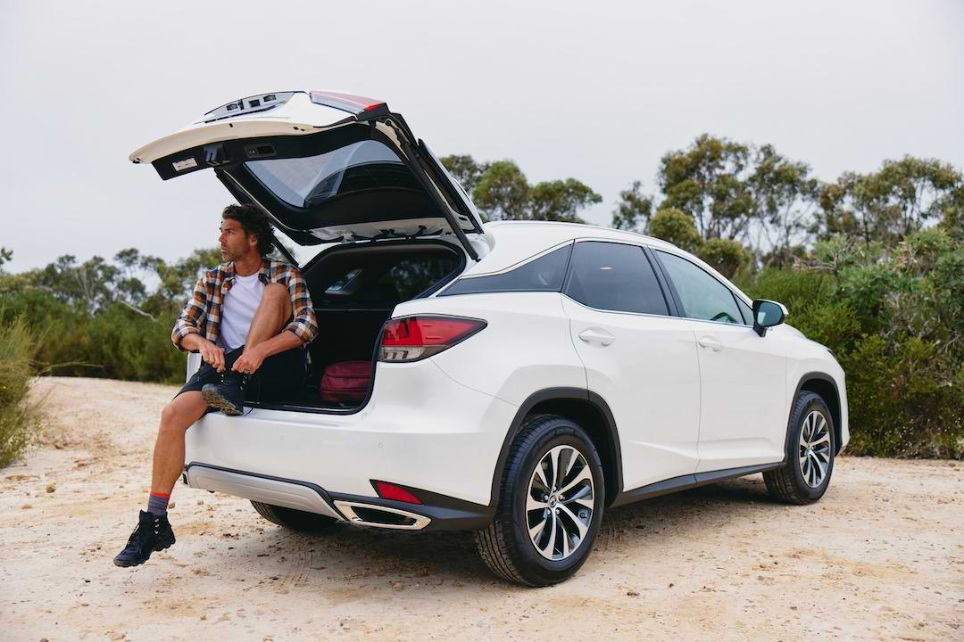 Find your away in the Lexus RX