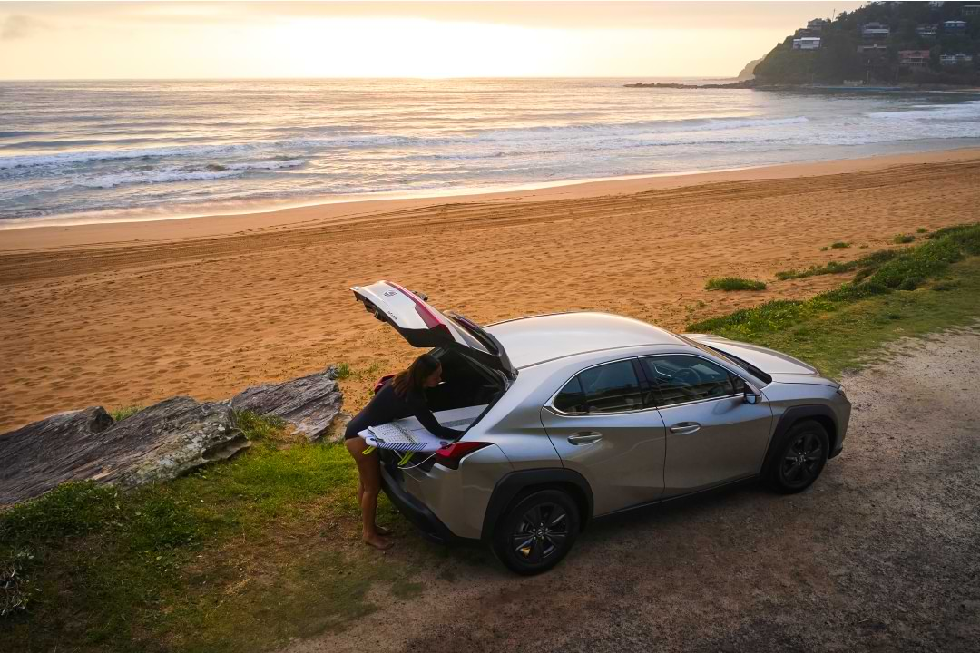 Find your away in the Lexus UX